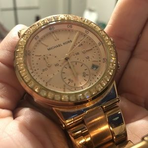 Rose Gold woman's MK watch